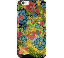 Golden Flowering Earth iPhone Case/Skin