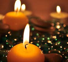 Romantic Candles by Digifuture