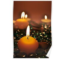Romantic Candles Poster