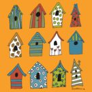 bird houses by sparklehen