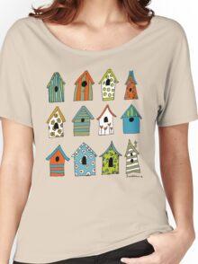 bird houses Women's Relaxed Fit T-Shirt