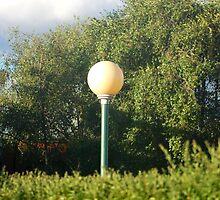 Lonely Lamp by Jenni Greene