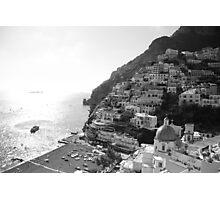 Positano, Amalfi Coast, Italy. Photographic Print