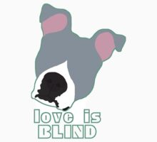 Love is Blind blue Kids Clothes
