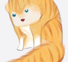 Wild grumpy cat  Sticker