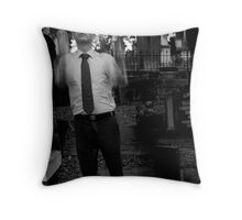 i fell from a great height #3 (the awakened, the dear departed) Throw Pillow