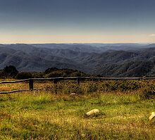 It well might make the boldest hold their breath -  View From Craigs Hut Mount Sterling - The HDR Experience by Philip Johnson