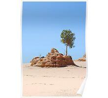 Lake Mungo Lonely Tree Poster