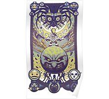 zelda majora's mask Poster