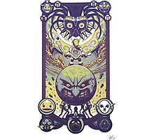 zelda majora's mask Photographic Print