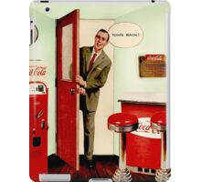 Tom's Back iPad Case/Skin
