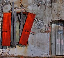 Rusty Shutters by Jane Best