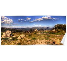 Mountain High - Mount Sterling, Alpine National Park - The HDR Experience Poster
