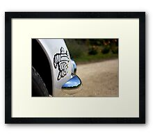 Michelin man Framed Print