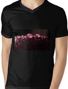Magnolia RainDrops Mens V-Neck T-Shirt