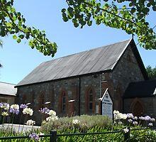 Echunga Uniting Church c1884 by ScenerybyDesign