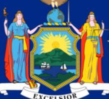 New York State Flag USA Bedspread T-Shirt Sticker Clothes Sticker