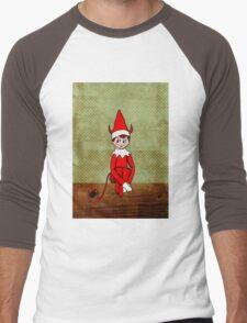 Mischief on The Mantle Men's Baseball ¾ T-Shirt