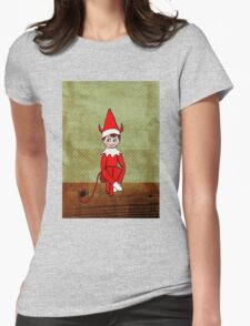 Mischief on The Mantle Womens Fitted T-Shirt