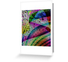 Brillant Colours-Available As Art Prints-Mugs,Cases,Duvets,T Shirts,Stickers,etc Greeting Card