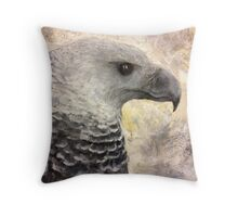 Harpy Eagle Study in Acrylic Throw Pillow