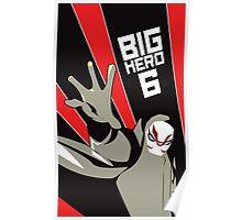 BH6: Kabuki Mask Poster Poster