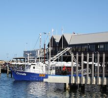Fishing Boat - Fremantle by sparkographic