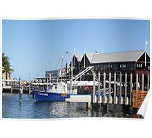 Fishing Boat - Fremantle Poster