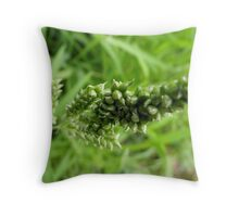 Grass stalk Throw Pillow