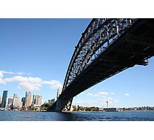 Sydney and the Harbour Bridge Photographic Print