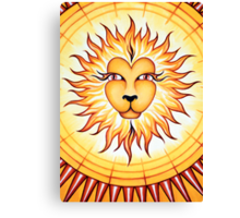 Leo  - shine your light into the world! Canvas Print