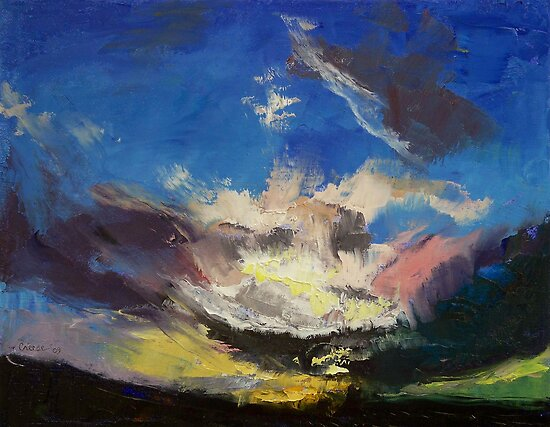 Dragon Cloud by Michael Creese