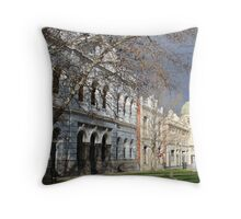 Streetscape of Fremantle Throw Pillow