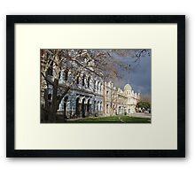 Streetscape of Fremantle Framed Print