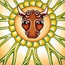 Taurus - take the bull by it's horns! by Sarah Jane Bingham