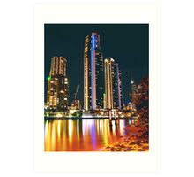 SURFERS PARADISE CITY Art Print