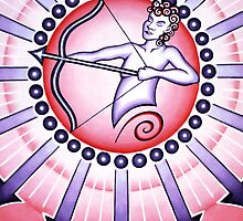 Sagittarius - Shoot your arrow throughout the world! by Sarah Jane Bingham