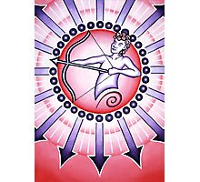 Sagittarius - Shoot your arrow throughout the world! Photographic Print