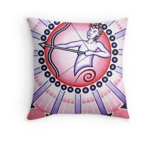 Sagittarius - Shoot your arrow throughout the world! Throw Pillow