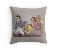 Zombie break Throw Pillow