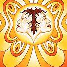 Gemini - Flutter high, flutter bright! by Sarah Jane Bingham
