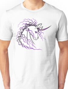 Ki-Rin (Japanese Unicorn) - Purple Unisex T-Shirt