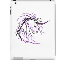 Ki-Rin (Japanese Unicorn) - Purple iPad Case/Skin