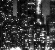 Black and White Chicago Sticker
