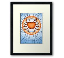 Cancer - Capture the world with wisdom. Framed Print