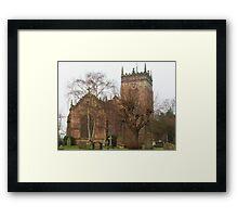 St. Mary's Church, Acton, Framed Print