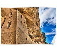 Anasazi Cliff Palace Poster
