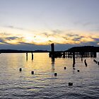 West Tacoma Waterfront Sunset by DiamondCactus