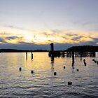 West Tacoma Waterfront Sunset by DiamondCactus