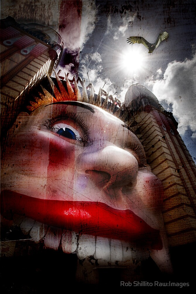 Luna Park - Enter if you dare! by Rob Shillito Raw:Images